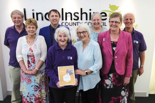lincolnshire good citizens award 2014 dementia support south lincs