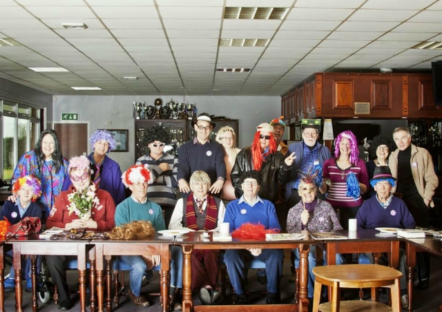 From the Archives: Brilliant photo taken by Christopher Rogers at Square Hole Club to celebrate Red Nose Day. I think it will put a smile on a lot of faces!
