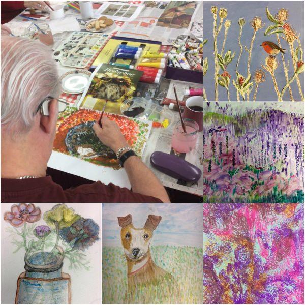 summer-exhibition-collage