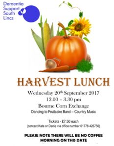Harvest Lunch @ Bourne Corn Exchange | Bourne | England | United Kingdom
