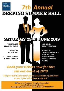 The Deeping Summer Ball @ Deepings Sports & Social Club | Market Deeping | England | United Kingdom